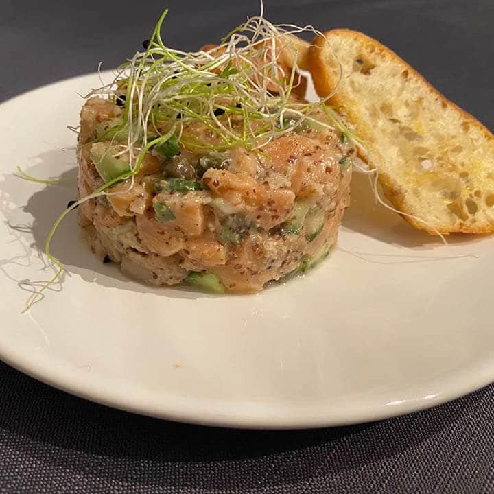 Tartare de saumon - La Kitchenette